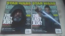 Entertainment Weekly-Star Wars The Last Jedi - (2) Collector's Covers-NO LABEL