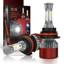 CREE 1500W 225000LM 9007 HB5 LED Headlight Kit Combo Beam Light Bulb 6000K Power