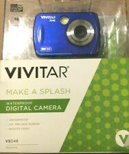 Vivitar®  WATERPROOF VS048 16.0-Megapixel Digital Camera, Blue 4X ZOOM