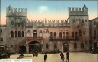 CAPODISTRIA ~1910/20 Vintage Postcard Slowenien Palazzo Comunale uralte AK