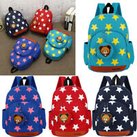 Cartoon Kids Boy Girl Children Star Backpack Toddler Cute School Bag Rucksack
