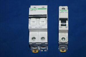 Schneider Electric IC60N C 3A  & C80H-DC C 10A Leitungsschutzschalter