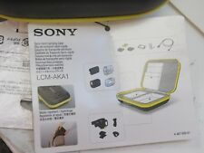 Sony LCM-AKA1 Semi-Hard Carrying Case for Action Cam