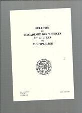 Bulletin Académie Sciences Lettres Montpellier Un monde pour l'homme Le jardin