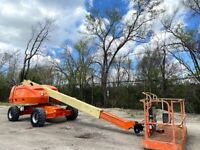 2012 JLG 400S TELESCOPIC BOOM LIFT DIESEL POWERED AERIAL LIFT JLG MANLIFT