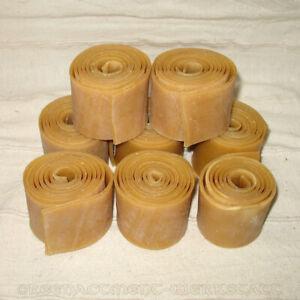 Rohhautstreifen Rohhaut verschiedene Längen Schildumrandung Schildrand Pergament