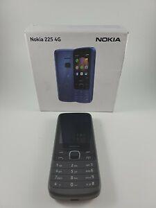 "Unlocked Nokia 225 TA-1282 2.4"" QVGA LCD 64MB WiFi 4G LTE GSM microSDHC"