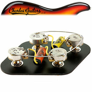 RS GUITARWORKS PRE-WIRED LONG SHAFT LES PAUL VINTAGE UPGRADE KIT (RS16005)