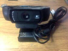 Logitech HD PRO C920 Web Camera Stream Cam - V-U0028 860-000334