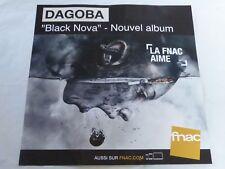 DAGOBA - BLACK NOVA !!!!!!PLV 30 X 30 CM !!!!!!!!!!!!!!!!!!