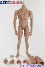 1/6 Male Figure Body Narrow Shoulder Ver 4.0 For Hot Toy TTM18 TTM19 TTM21 U.S.A