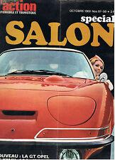 L'ACTION AUTOMOBILE N°97-98 1968  special salon