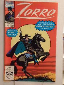 Marvel ZORRO #1 (1990) Johnston McCulley, Mario Capaldi, Ian Rimmer