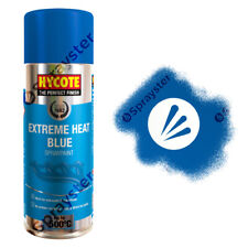 Hycote Blue Extreme Heat VHT Spray Paint High Temperature 650°C 400ml XUK1004