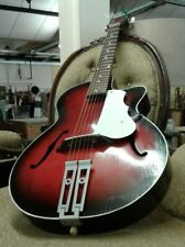 Egmond archtop parlour guitar ( George Harrison ) EXBBCTV guitarist's collection