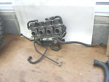 YAMAHA  YZF600 R6  '5SL'  '06   CARBS ASSEMBLY INCLUDING CARB HEATERS + LOOM