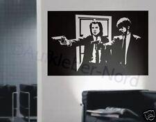 Pulp Stickers muraux mural cinéma film P1 - 60cm rétro couloir autocollant