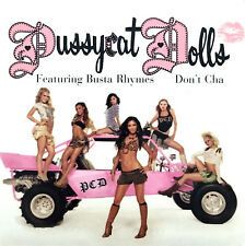 The Pussycat Dolls Featuring Busta Rhymes CD Single Don't Cha - Europe (EX/EX)