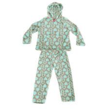 Pyjamas gris polaire pour fille de 2 à 16 ans