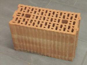 17,5er Unipor Blockziegel 9DF Hochlochziegel 37,2x17,5x23,8 Porotonsteine