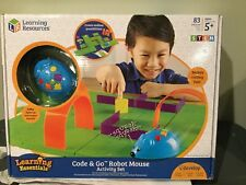 Learning Resources Code & Go Robot Mouse Activity Set Kids Programmable STEM 5+