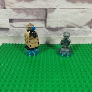 Cyberman + Dalek Doctor Who - Lego Dimensions 71238 - Complete - Free P+P