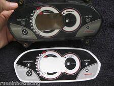 2004 2005 Yamaha FX HO L-Mode Gauge Dash Decal Sticker Overlay FX HO Cruiser 160