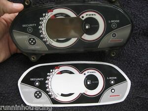 2004 2005 Yamaha FX HO L-Mode Gauge Dash Decal Sticker Overlay FX HO Cruiser 160