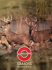 2003 Simmons Rifle Scope 20th Anniversary Catalog