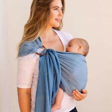 Moby Ring Sling Baby Carrier Chambray - Ring Sling Carrier for Baby-Wearing