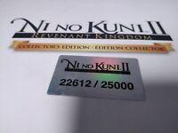Ni no Kuni II: Revenant Kingdom -- Collector's Edition PS4 RARE - Ships Fast