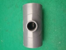 PVC Pipe  Reducing Tee 63 mm x 25 mm Plain Solvent Weld