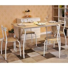 Set of 5 Dining Table and 4 Chairs Home Family Party Dining Dinner Kitchen Set