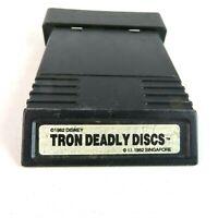 Tron Deadly Discs Atari 2600 Vintage 1982 Video Game 80's