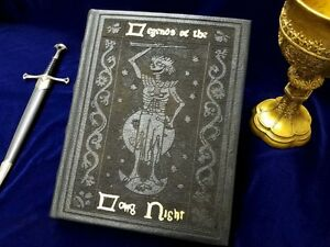Legends of the Long Night - Game of Thrones Night King Replica Book (Blank Book)