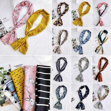 Women Stylish Silk Long Scarf Bandana Neckerchief Vintage Head Neck Wrap Scarves