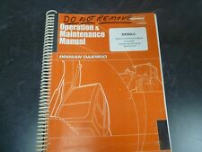 Doosan Daewoo DX300LC Crawler Excavator Owner Operator Maintenance Manual 5001-