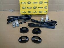 NEW GENUINE HELLA LED CAB MARKER ORANGE SIDE INDICATOR LIGHT SET 2026