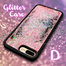 For iPhone 6S Plus Glitter Liquid Case Sparkle Bling Water Shockproof Hard Cover