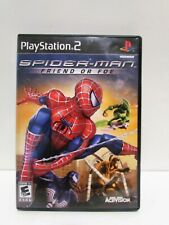 Spider-Man: Friend or Foe PS2 (Sony PlayStation 2, 2007) Complete