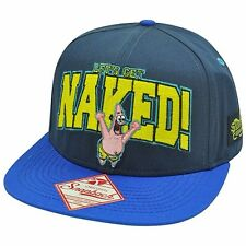 Spongebob TV Series Lets Get Naked Adjustable Snapback Cap/Hat