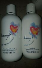 PHILOSOPHY LOVESWEPT shampoo ,bath ,shower gel & lotion 8oz duo +  BONUS