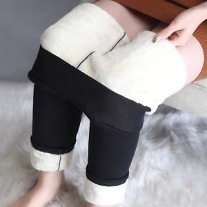 Winter Leggings  Warm Thick Velvet High Waist  Leggings Compression Stretch Pant