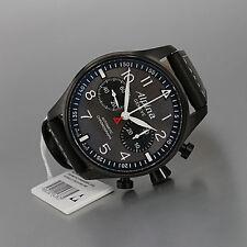ALPINA  Startimer Pilot Chronograph Blackstar Automatik PVD  N E U  UVP  2.550€