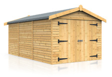16ft x 9ft TIMBER GARAGE FOR SALE LIMITED STOCK  (FREE DELIVERY)