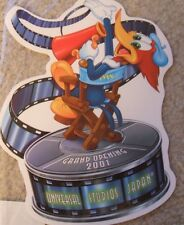 Woody Woodpecker (Universal Studios Japan Grand Opening) sticker