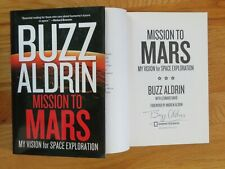"Astronaut BUZZ ALDRIN signed ""MISSION TO MARS"" 2013 Book APOLLO 11 COA"