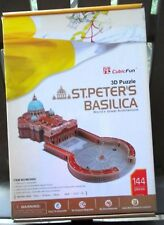 St Peter's Basilica 3D Puzzle with Monument Booklet 144 Pieces MC092h