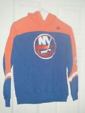 New York Islanders NHL Majestic Royal Blue Kids Medium Hoodie Long Sleeve Used