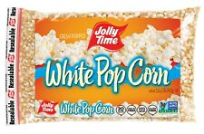 JOLLY TIME White Popcorn Kernels, Bulk Stovetop Natural Popping Corn, 32 Oz ✔️✔️